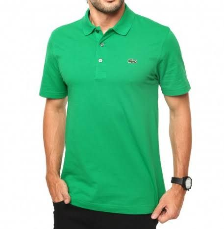Camisa Polo Lacoste L1230 3B5 Verde