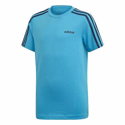 Camiseta Adidas Infantil YB 3S Tee Azul