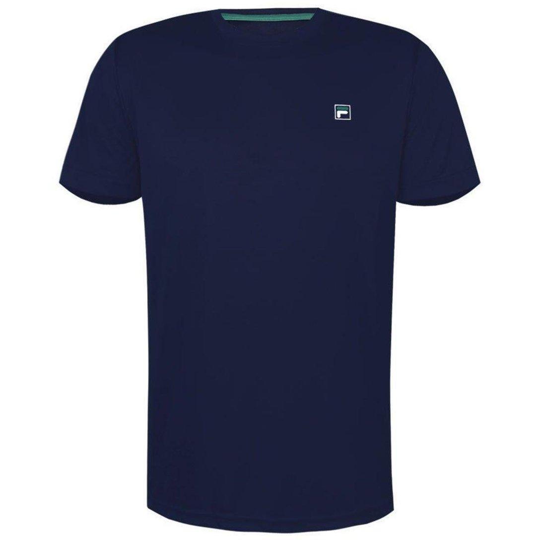 Camiseta Fila Masculina Aztec Box Azul