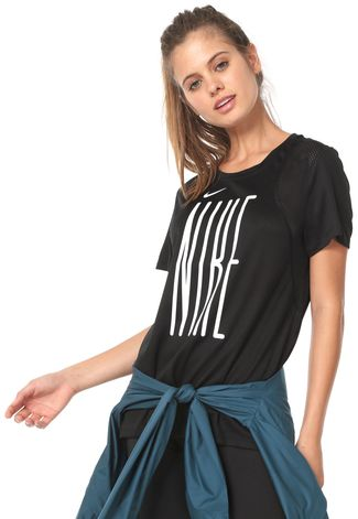 Camiseta Nike Feminina BV3970 Preta
