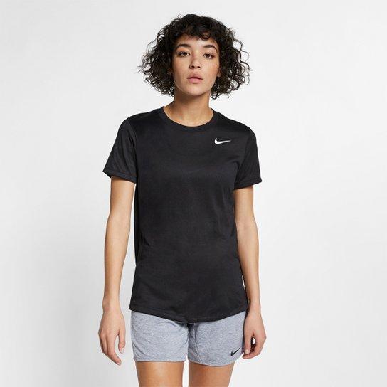 Camiseta Nike Feminina Dry Leg Tee Preto