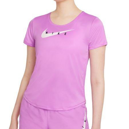 Camiseta Nike Feminina Swoosh Run Rosa