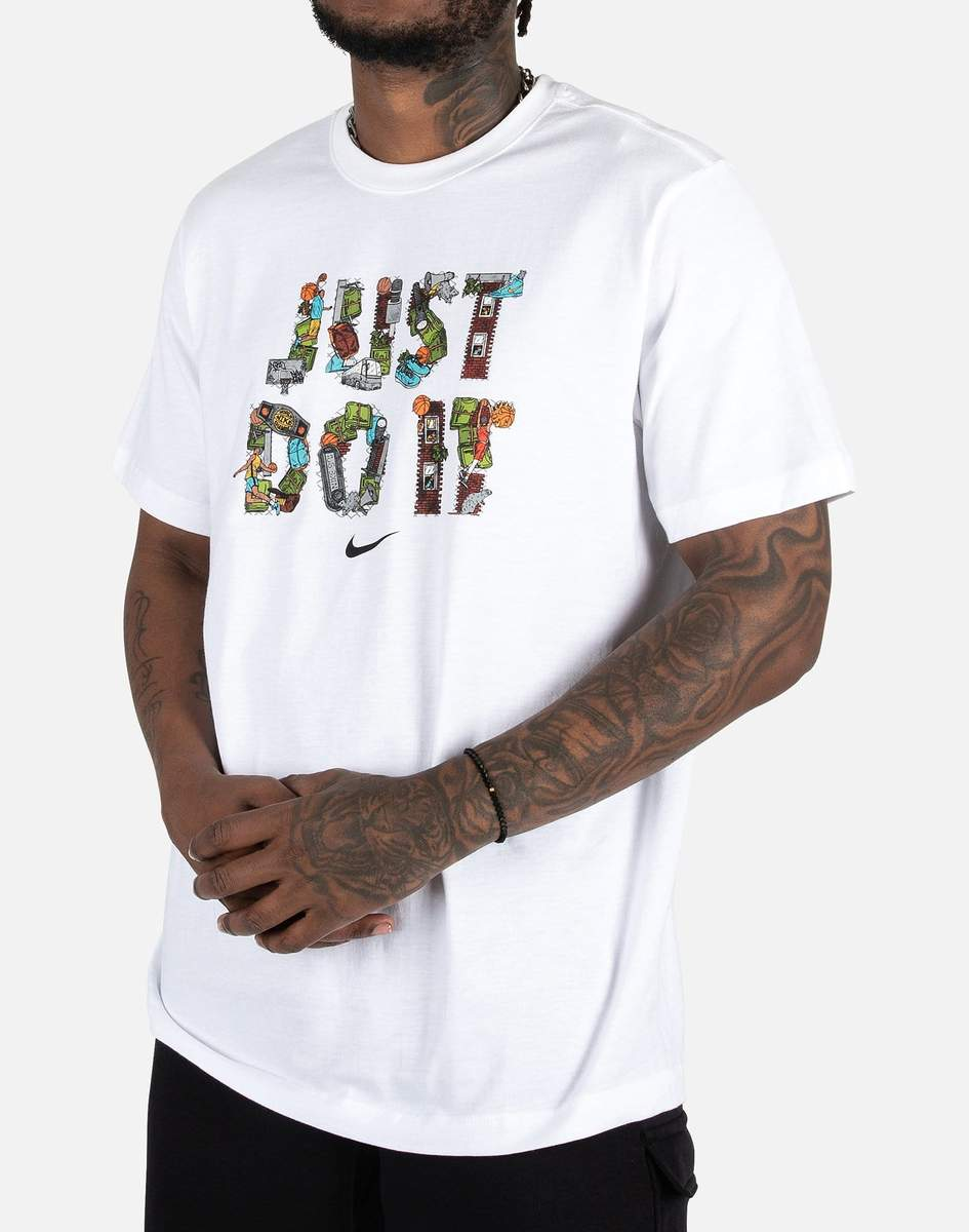 Camiseta Nike Masculina NY Just do It Branca