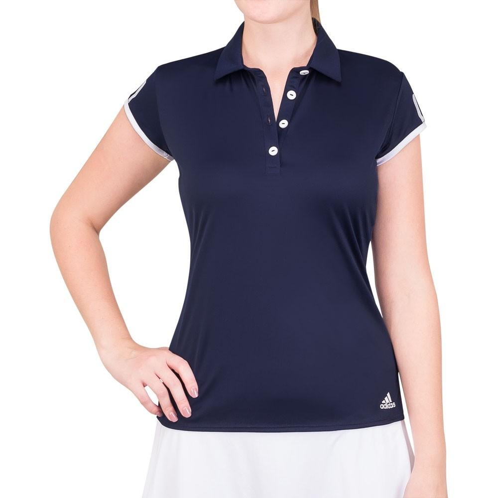 Camiseta Polo Adidas Club 3STR Marinho TAM  P