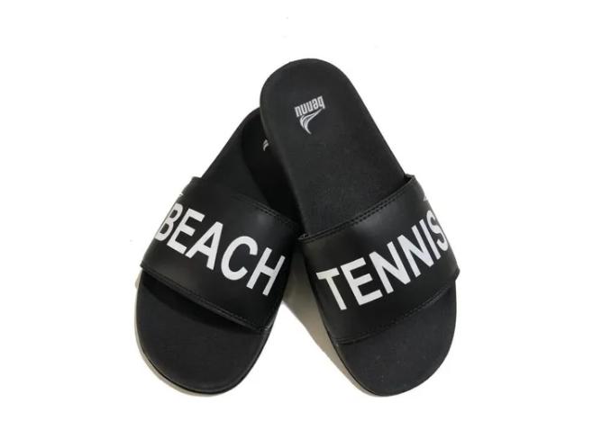Chinelo Bennu Beach Tennis Preto