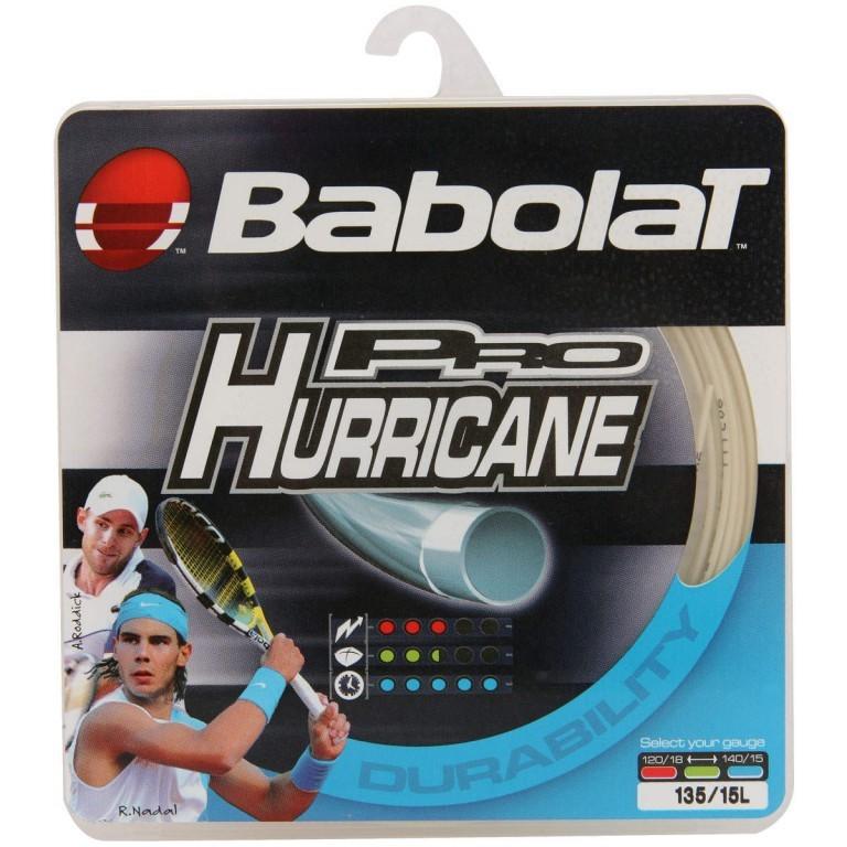 Corda Babolat Pro Hurricane 1.35MM Natural - Set Individual