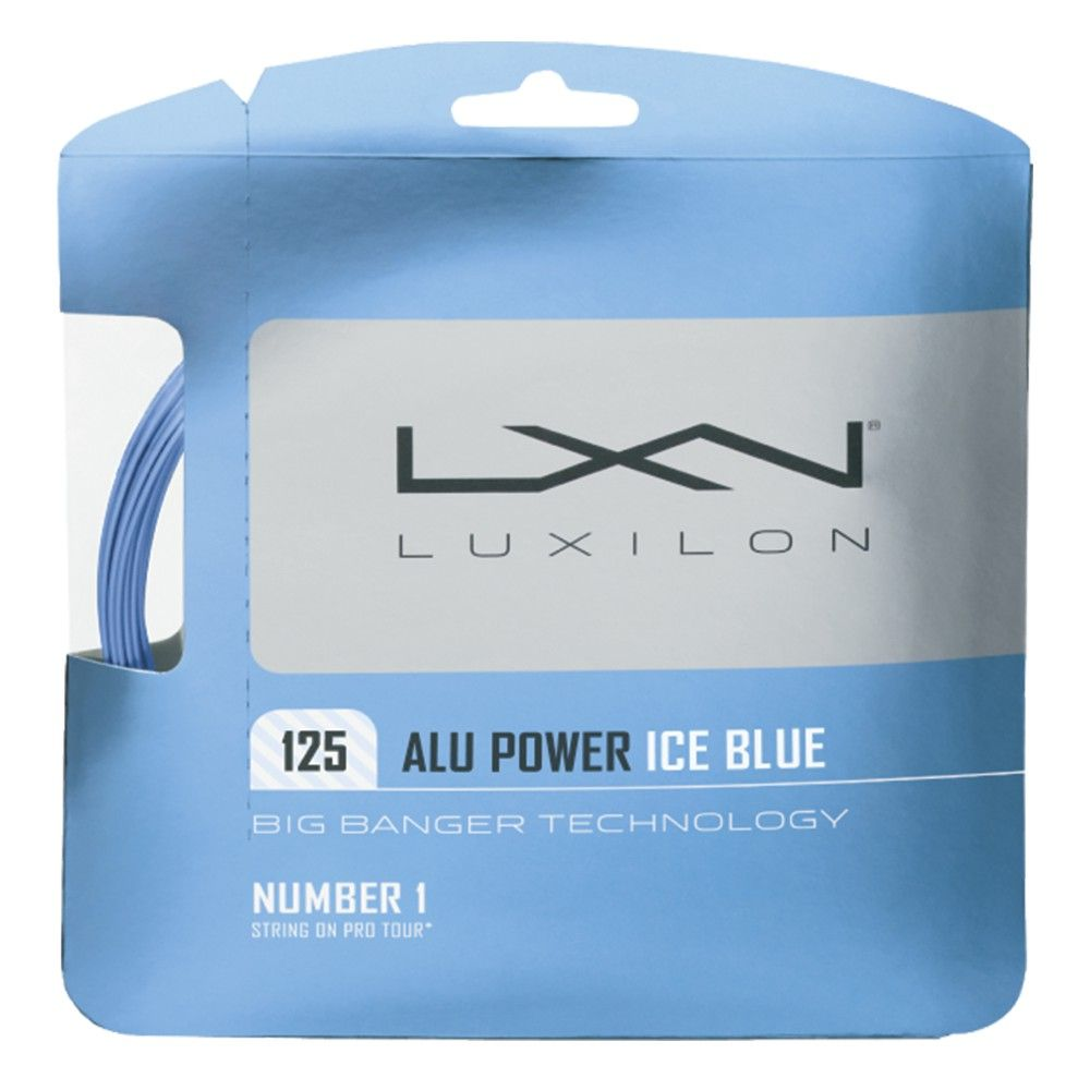CORDA LUXILON ALU POWER ICE BLUE 1,25 SET INDIVIDUAL