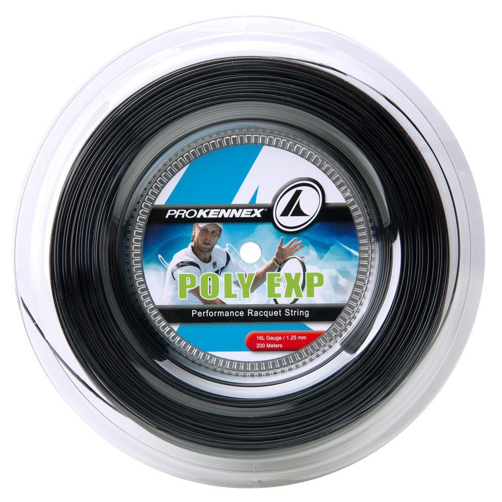 Corda Prokennex Poly Exp Preta 1,25 - Rolo c/200 Metros