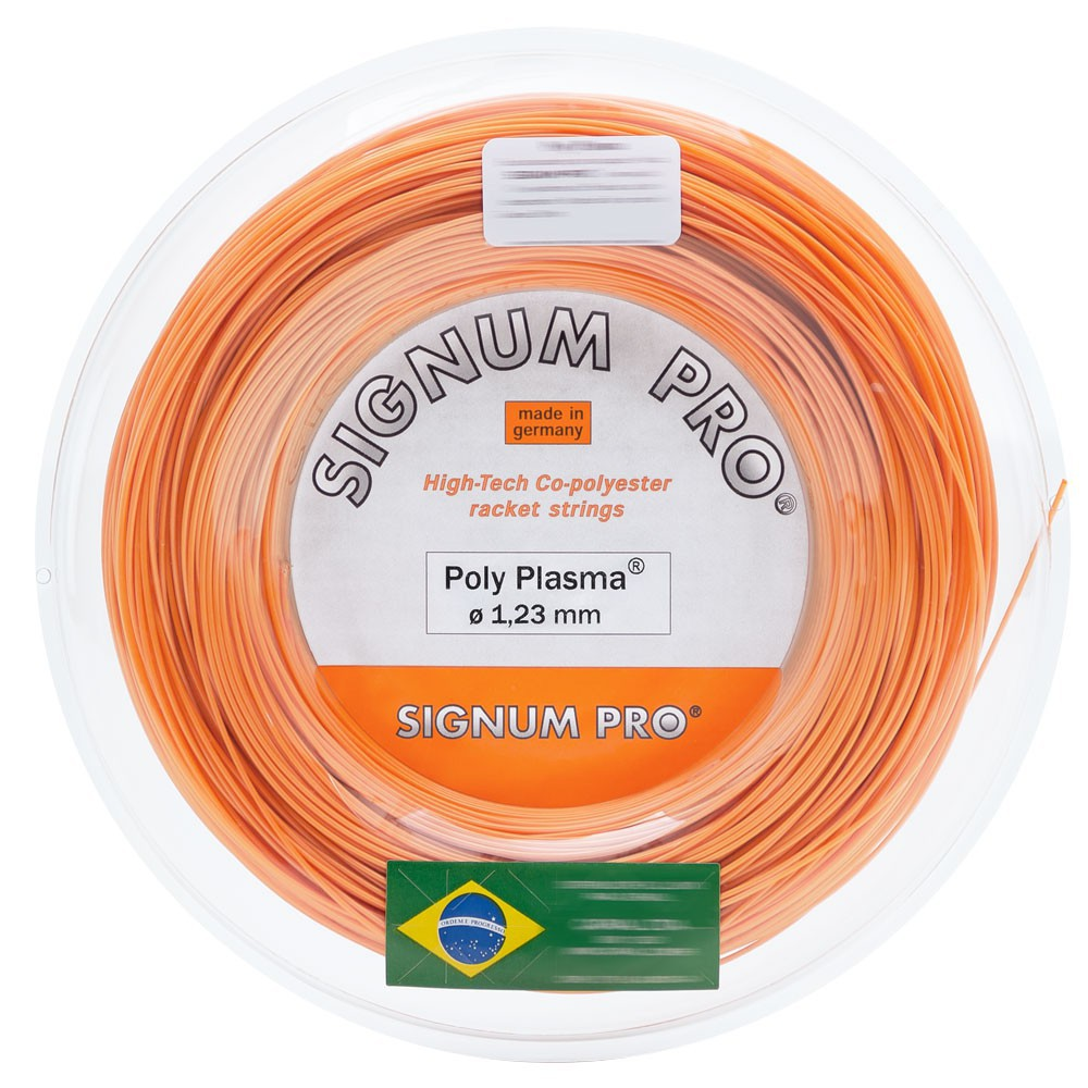Corda Signum Pro Poly Plasma 1,23 Laranja Rolo c/200 Metros