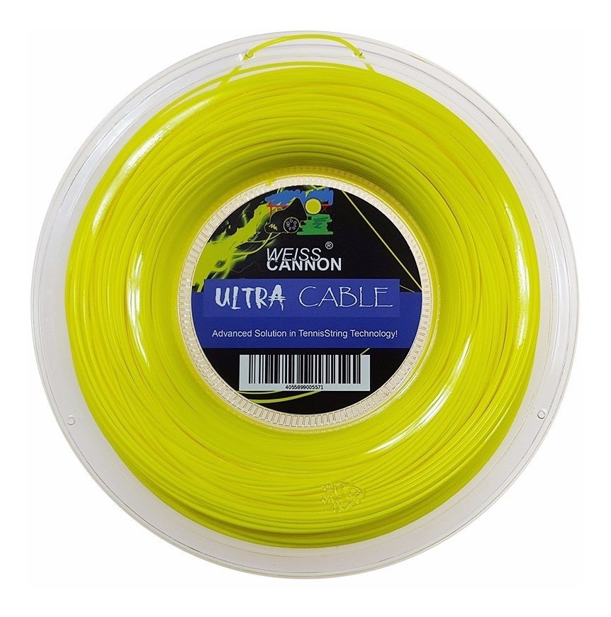 Corda Weiss Cannon Ultra Cable 1,23 - Rolo c/200 Metros