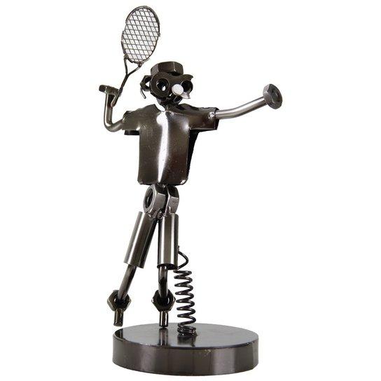 Estatueta de Tenista c/ mola - base metal EST-2