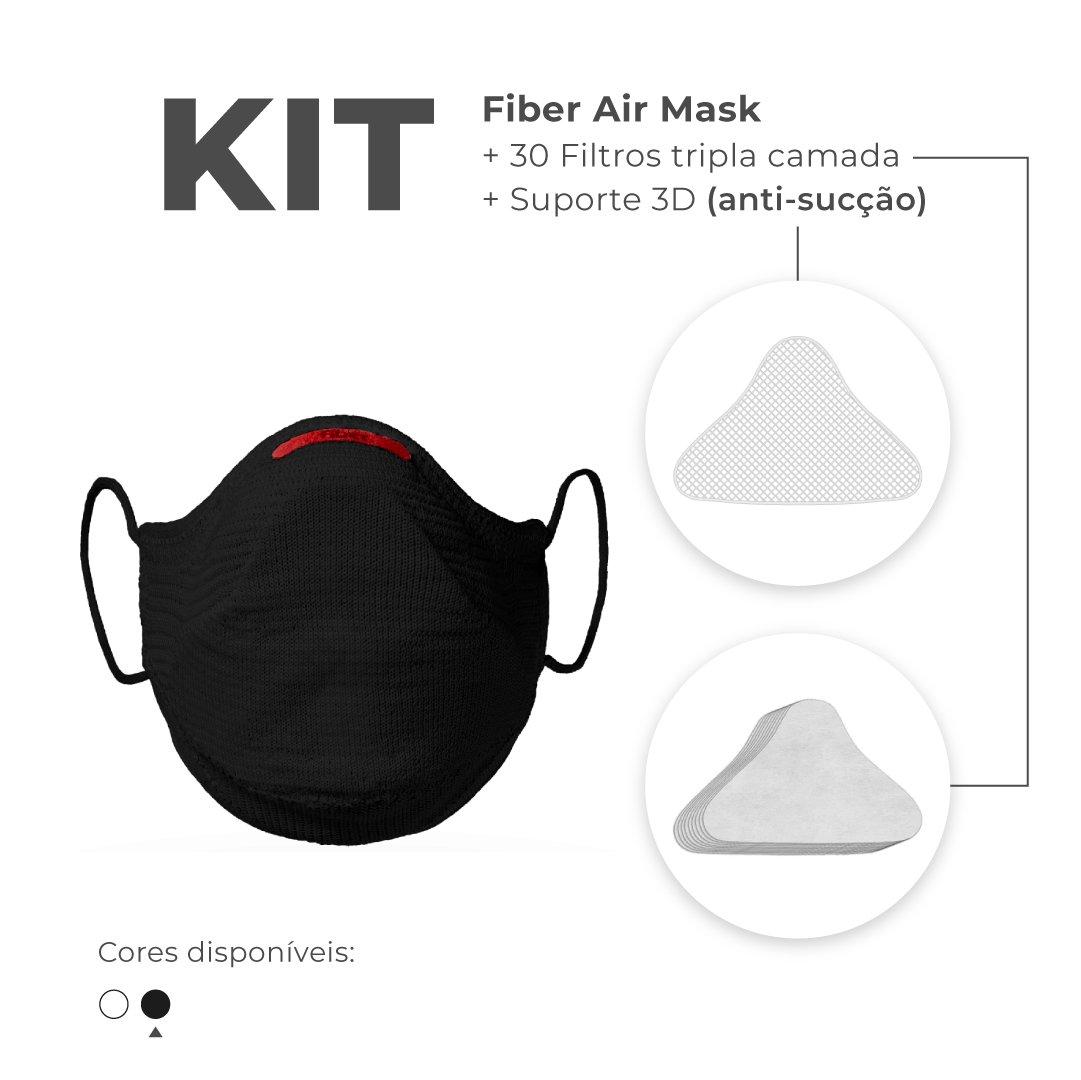 Mascara Fiber Knit Air Z992 0998 Preto M