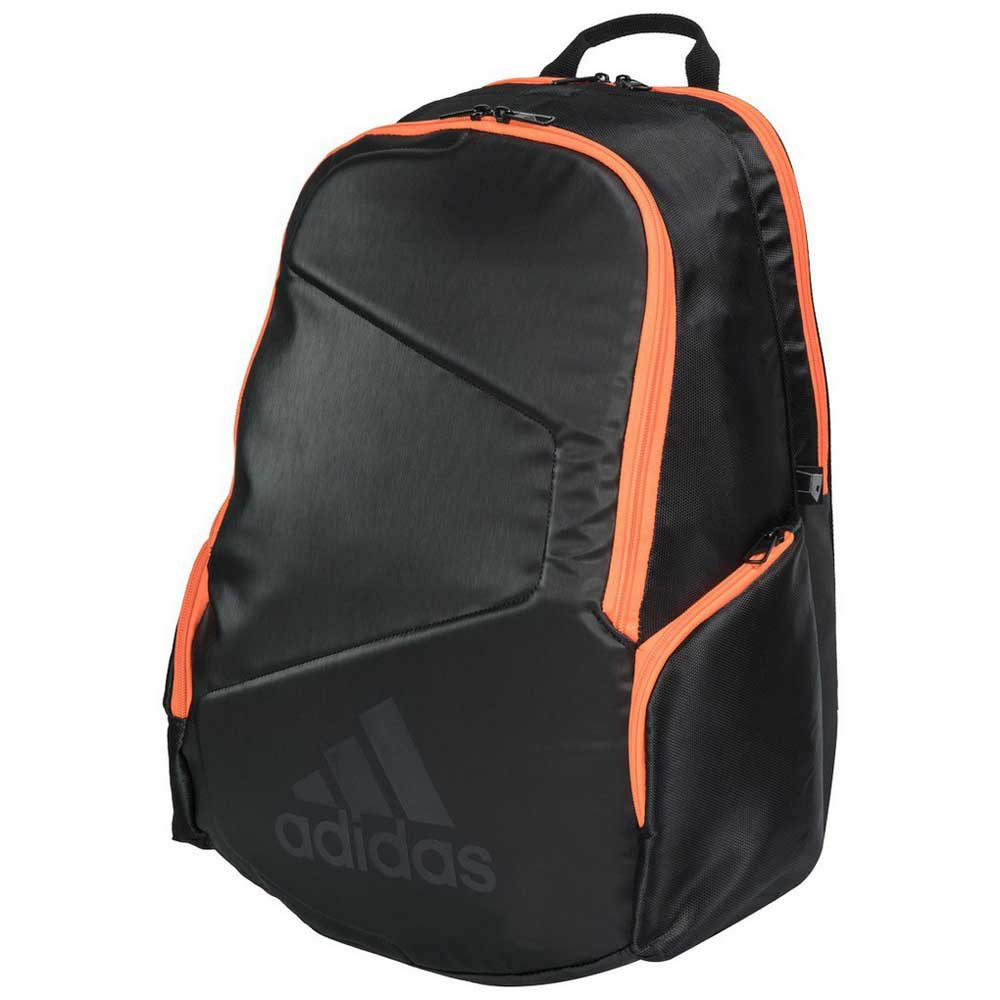 Mochila Adidas Backpack Pro Tour Preta e Laranja