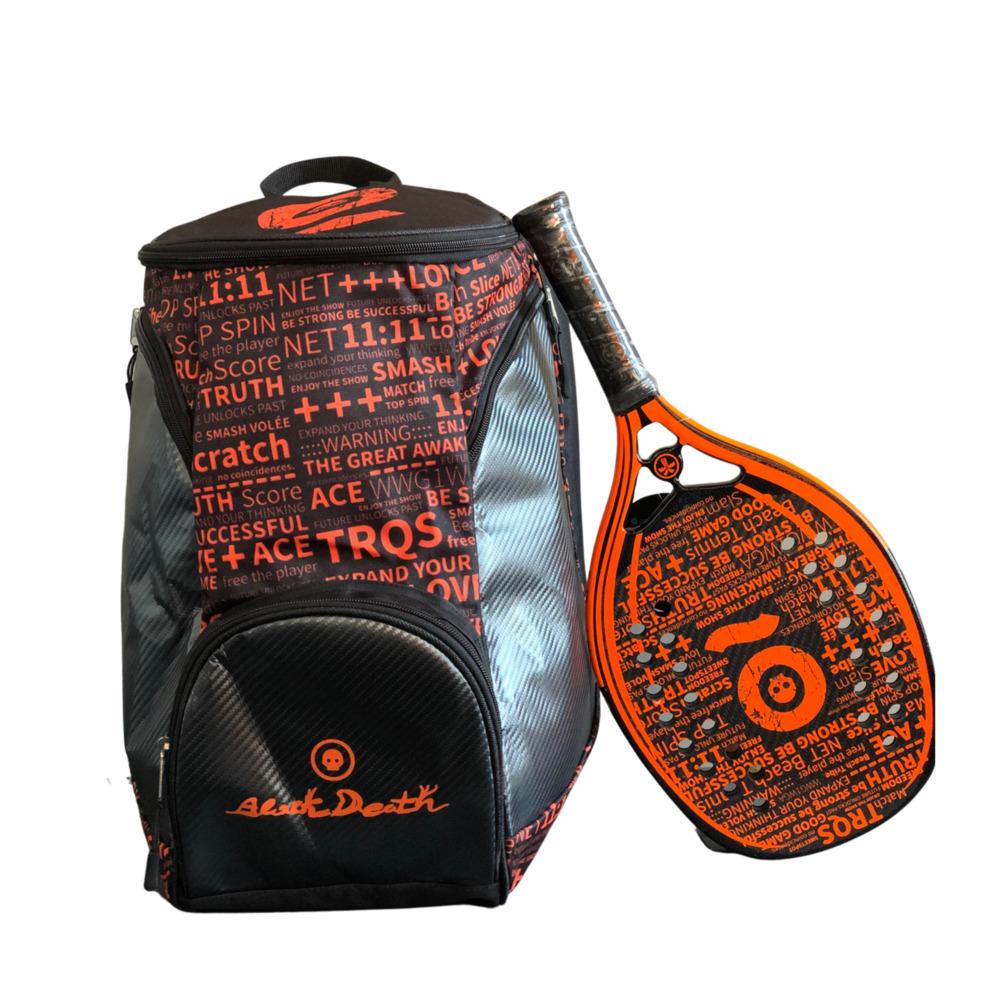 Mochila Turquoise Black Death Orange  2021
