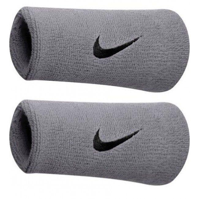 Munhequeira Nike Double Cinza e Preto