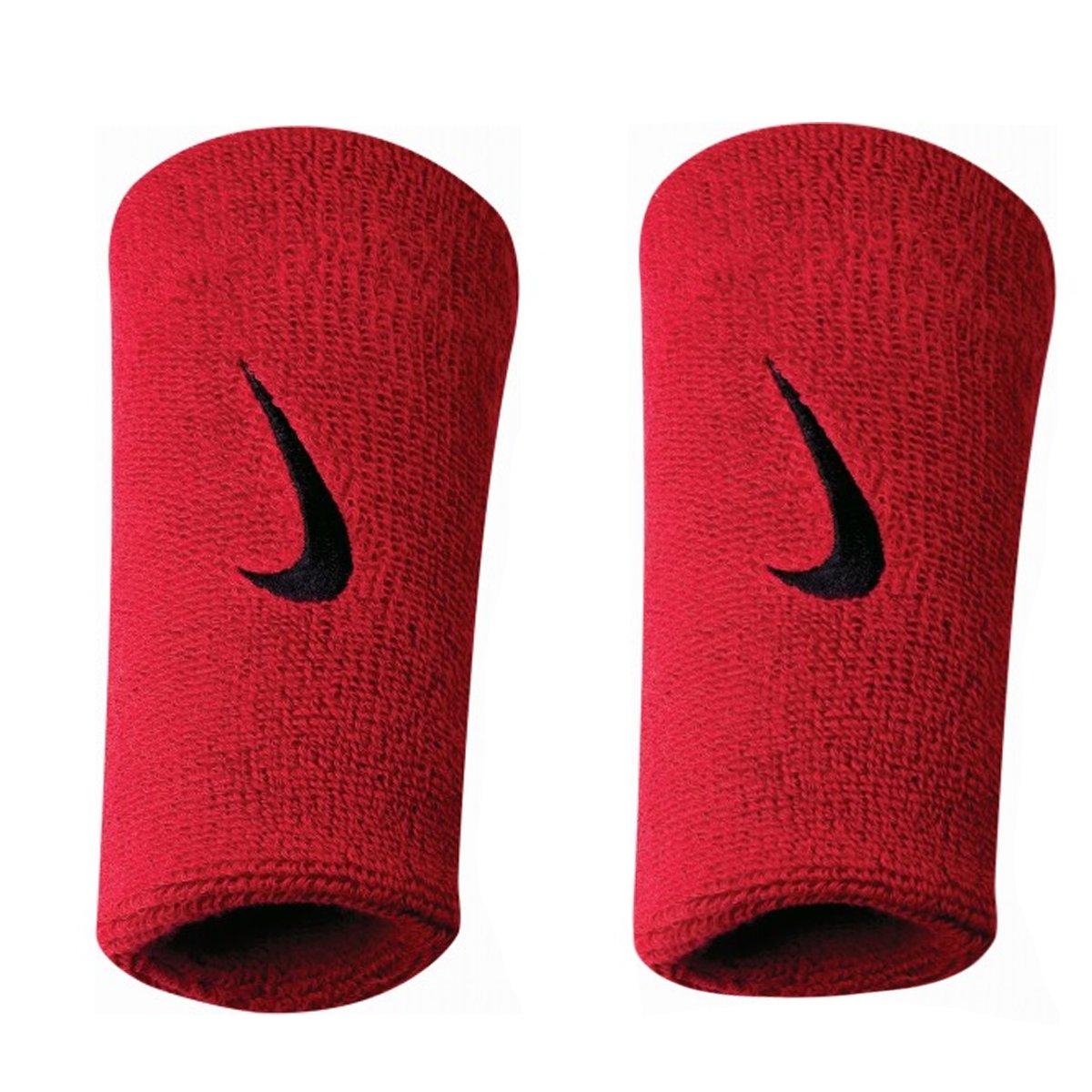 Munhequeira Nike Double Vermelha e Preto