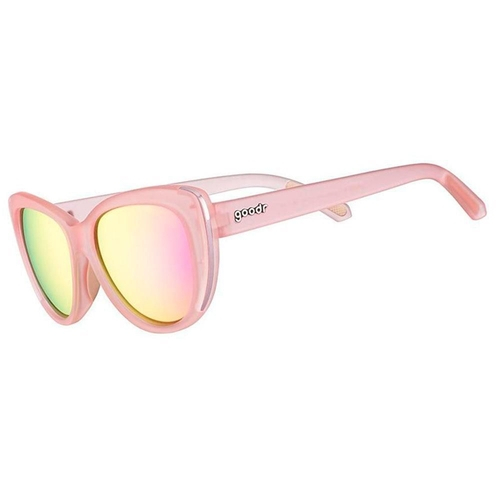 Óculos De Sol Goodr Rosé Before Brosé Rosa Proteção Uva/Uvb