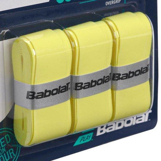 Overgrip Babolat Pro Tour Amarelo Cartela c/3 Unidades