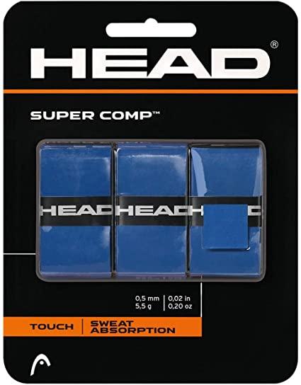 Overgrip Head Super Comp Azul Cartela c/3 unidades