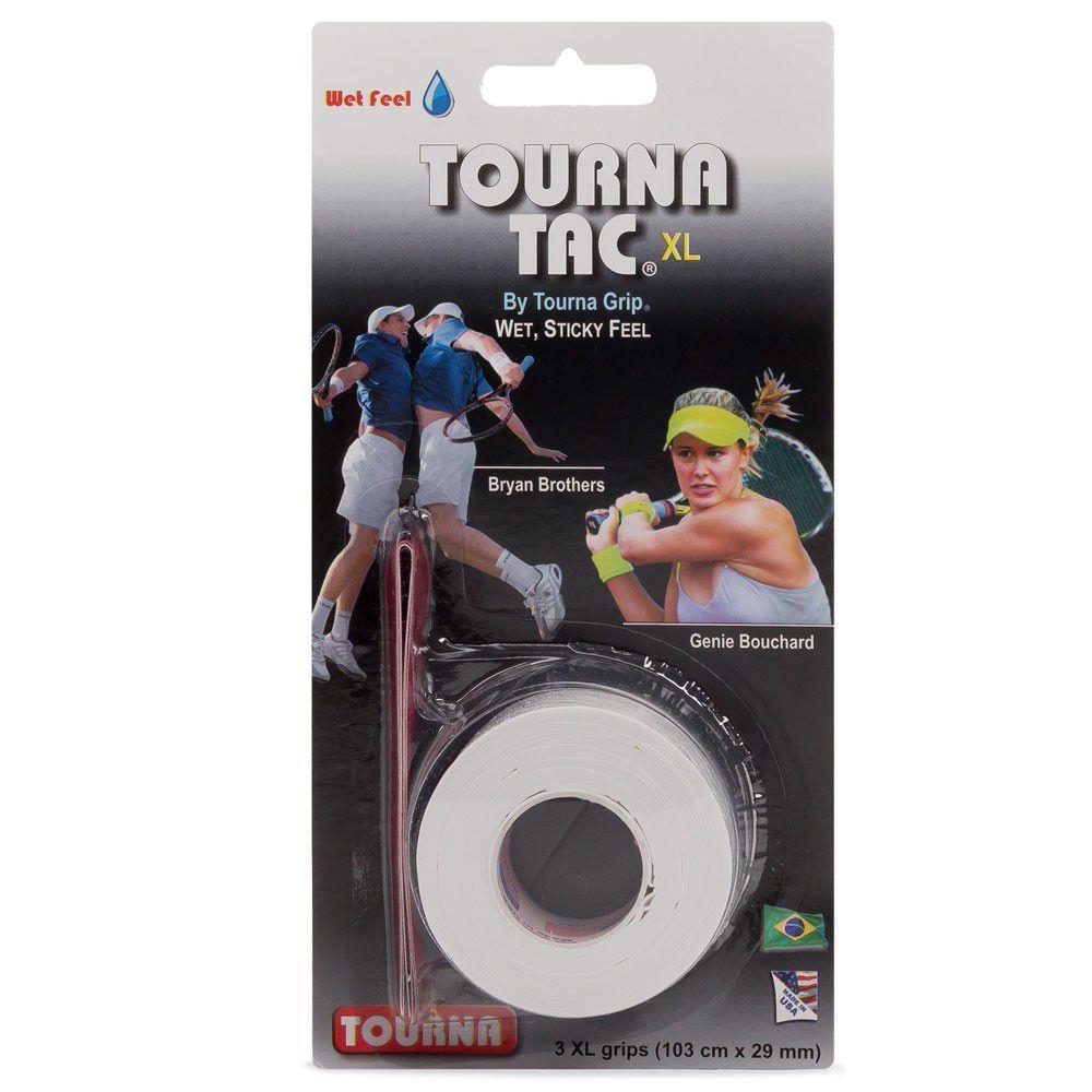 Overgrip Tourna TAC Branco Cartela c/3 un