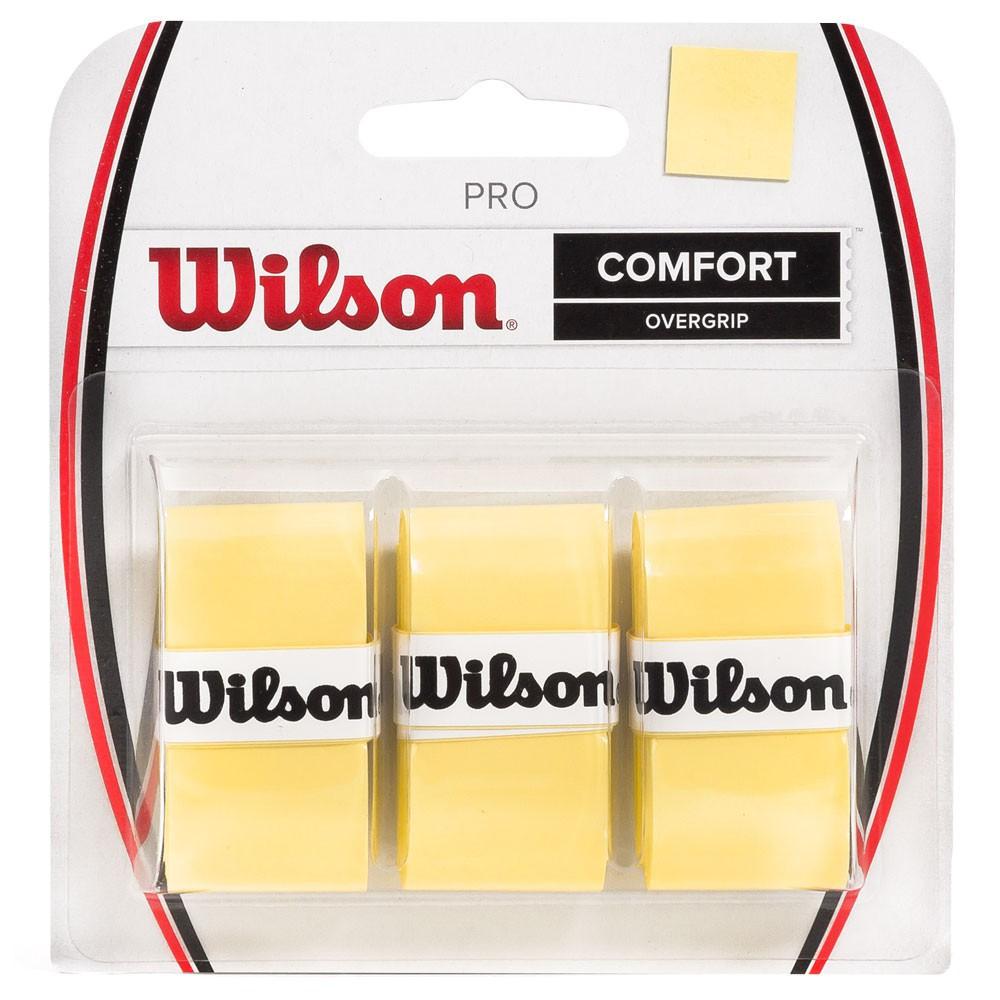 OVERGRIP WILSON PRO AMARELO C/3