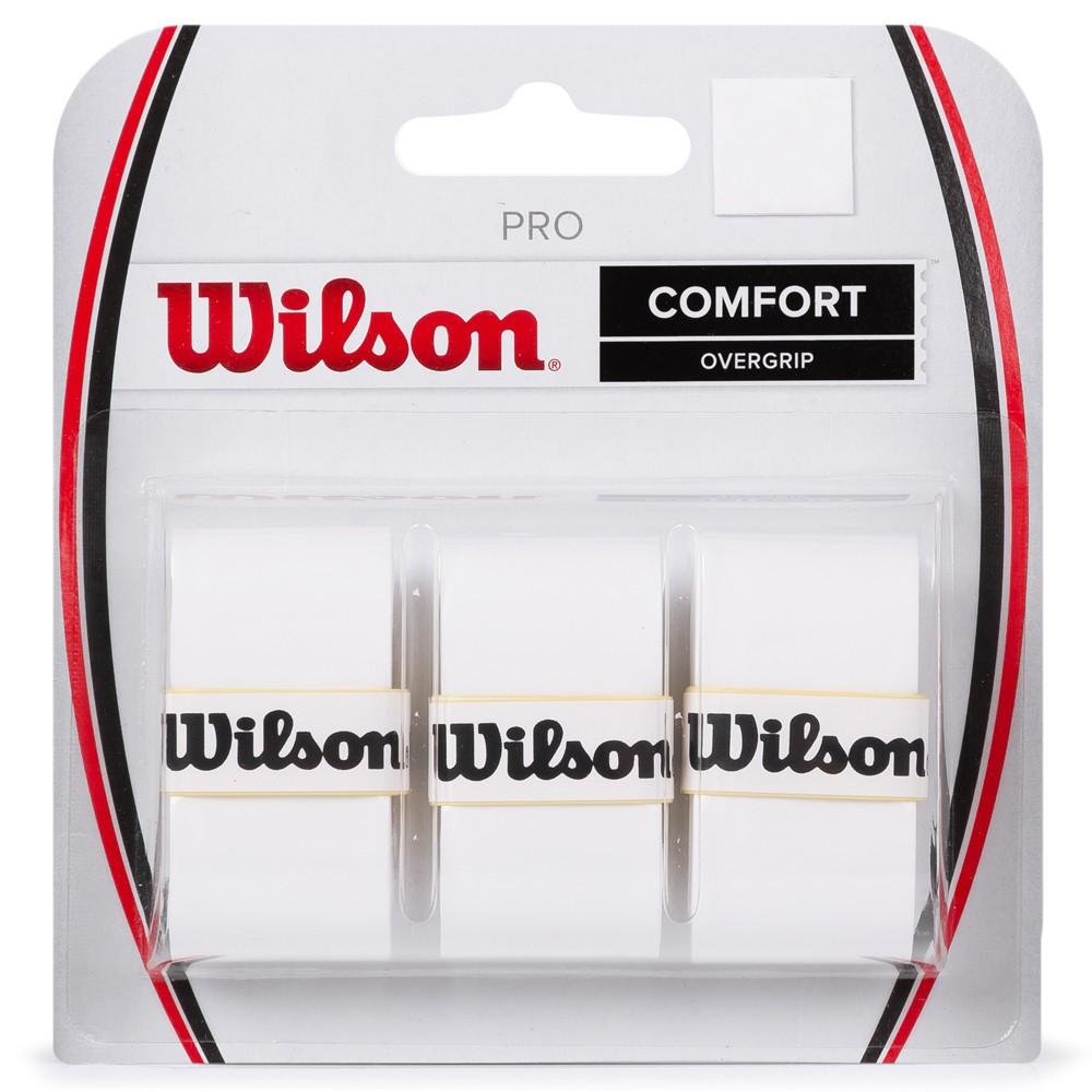 OVERGRIP WILSON PRO BRANCO C/3