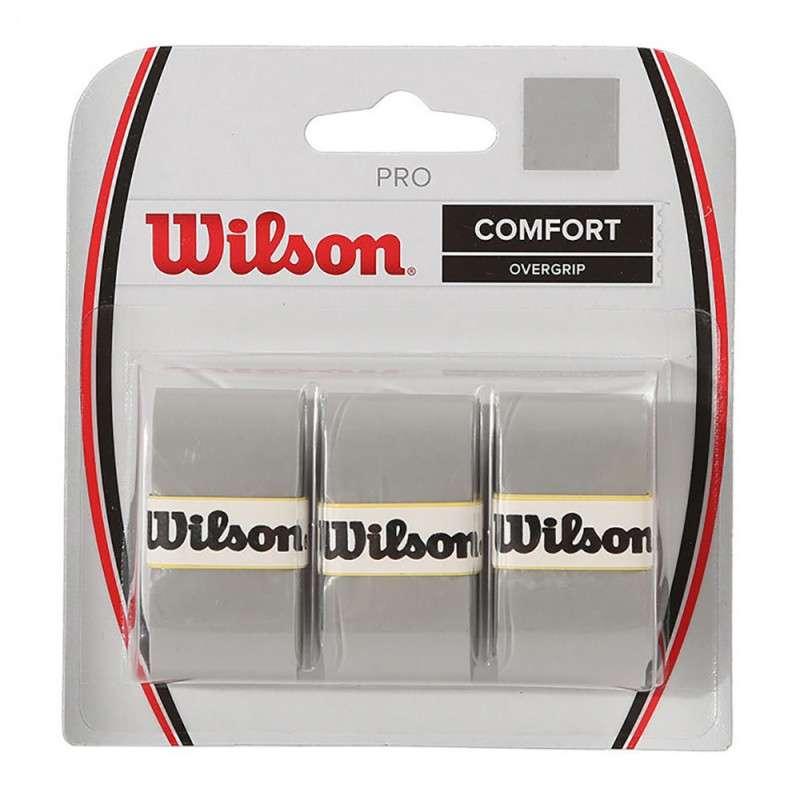 OVERGRIP WILSON PRO CINZA PACK C/3
