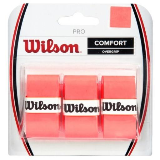Overgrip Wilson Pro Laranja Cartela c/3 unidades