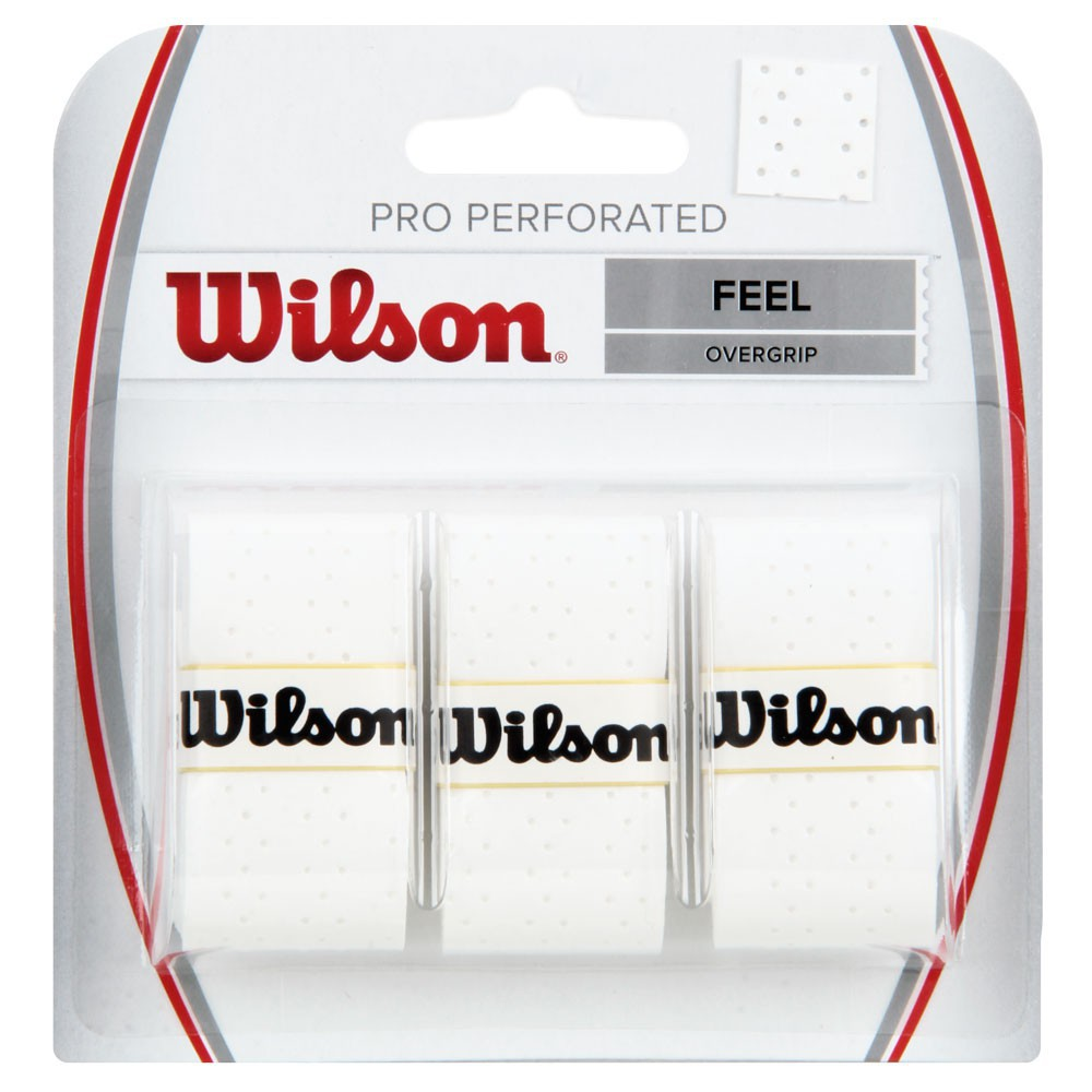 OVERGRIP WILSON PRO PERFORATED BRANCO C/3