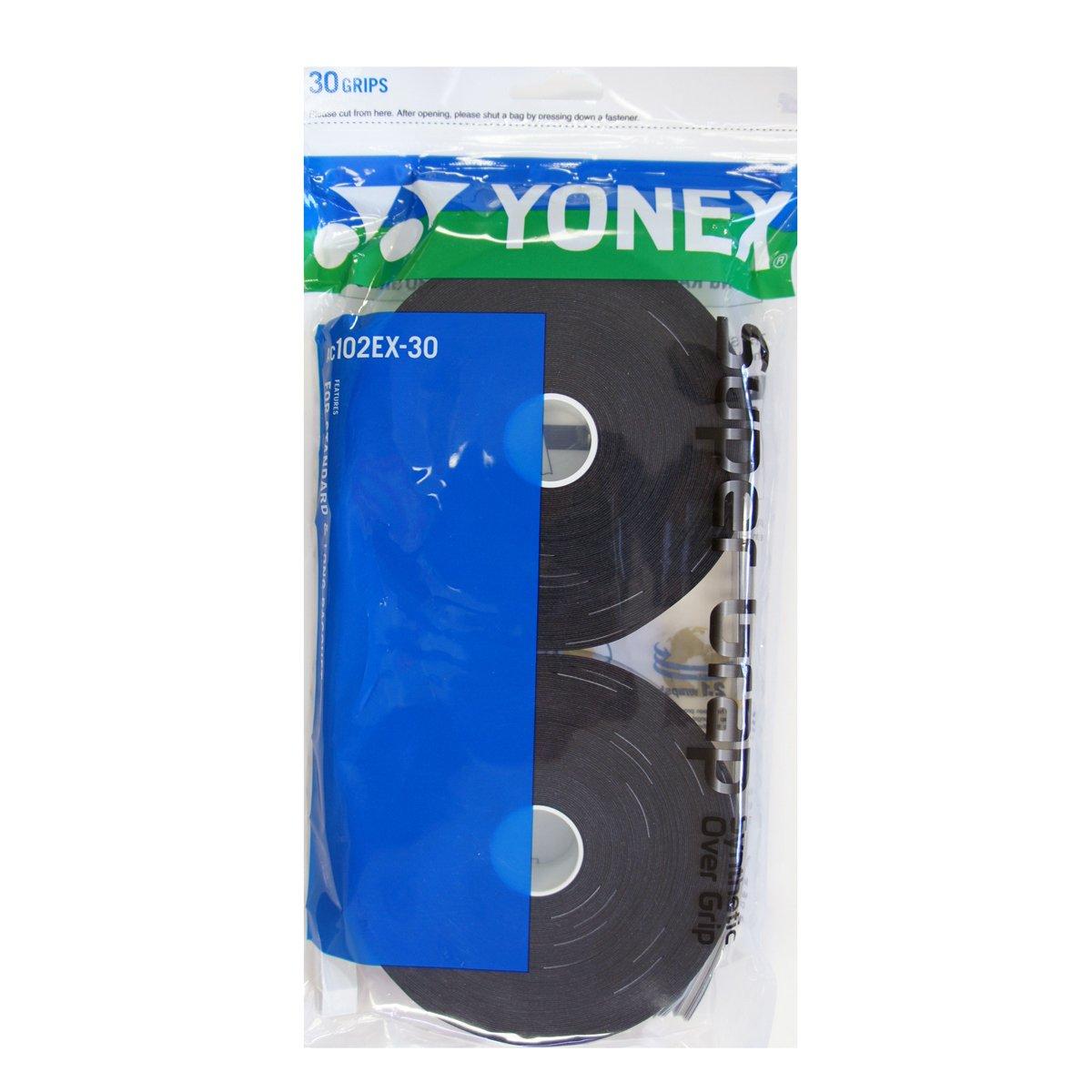 Overgrip Yonex Preto Super Grap Pack c/30 Unidades