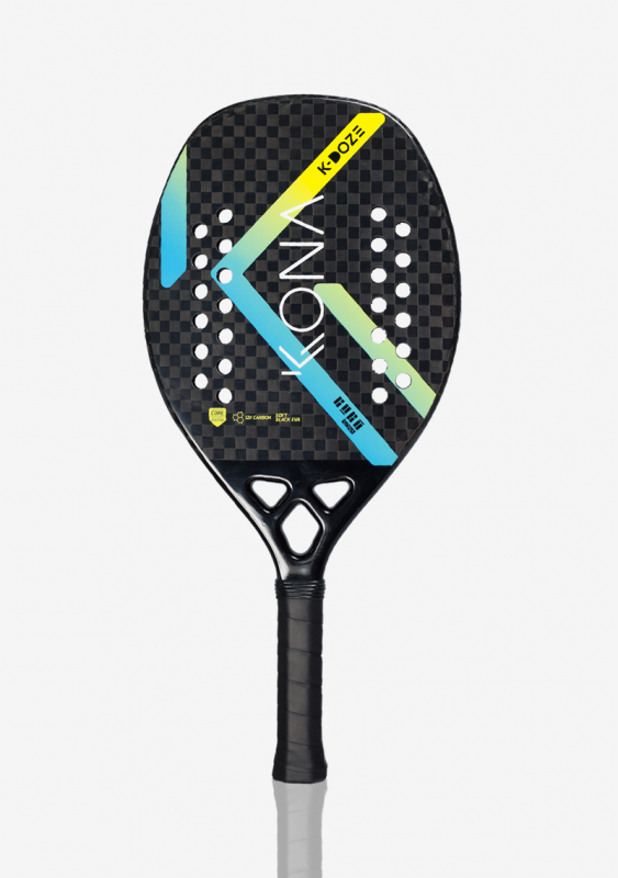 Raquete de Beach Tennis - KONA KDOZE BLUE