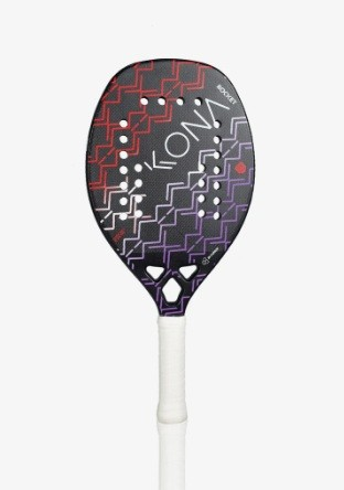 Raquete de Beach Tennis Kona Rocket Red