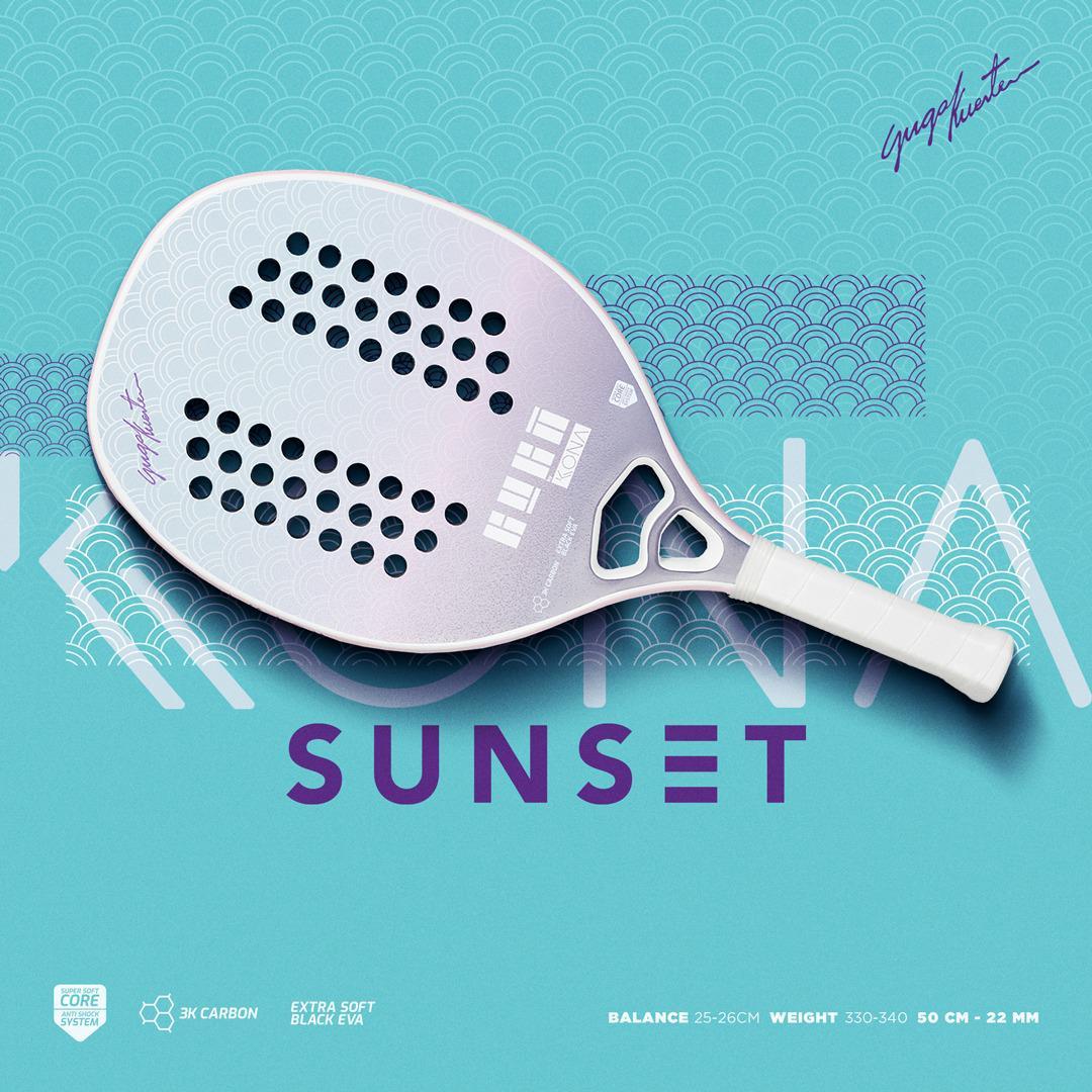 Raquete de Beach Tennis Kona Sunset Purple