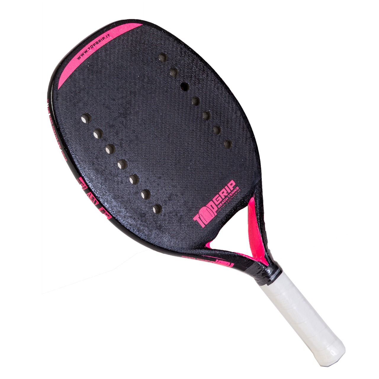 Raquete de Beach Tennis Top Grip Pink