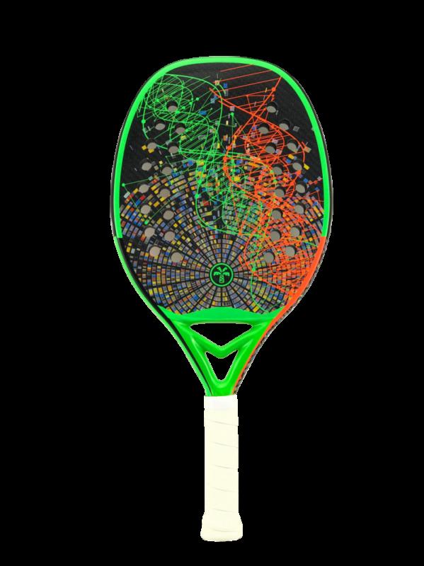 Raquete de Beach Tennis Turquoise DNA Green 2021