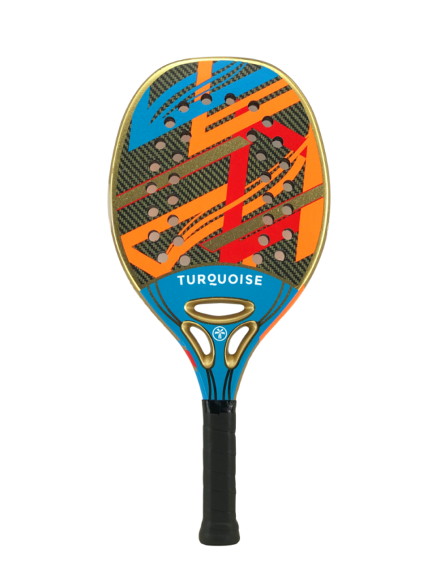 Raquete de Beach Tennis Turquoise Revolution Blue 2021