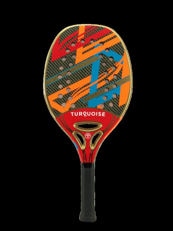 Raquete de Beach Tennis Turquoise Revolution Red 2021
