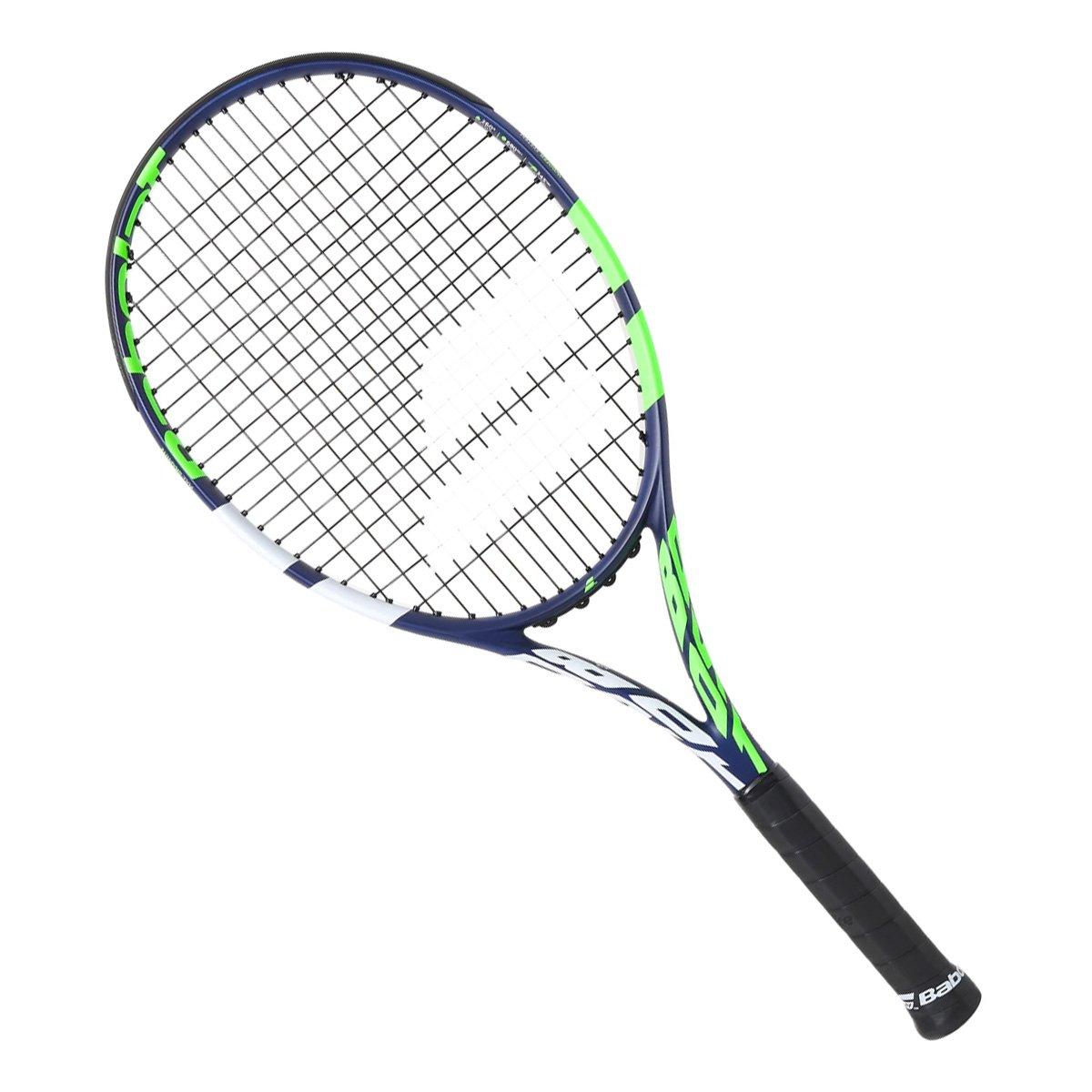Raquete de Tênis Babolat Boost Drive 105 Azul Verde e Branco L1
