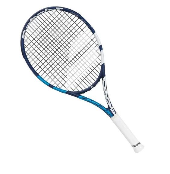 Raquete de Tênis Babolat Drive Jr 25 Azul e Branco L0