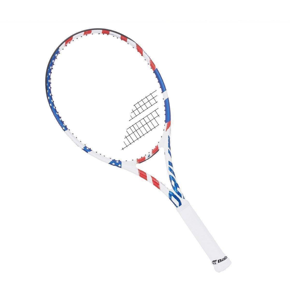 Raquete de Tênis Babolat Pure Drive USA Country L2