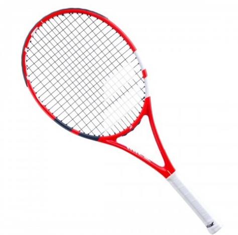 Raquete de Tênis Babolat Strike Jr 26 Vermelho e Branco L0