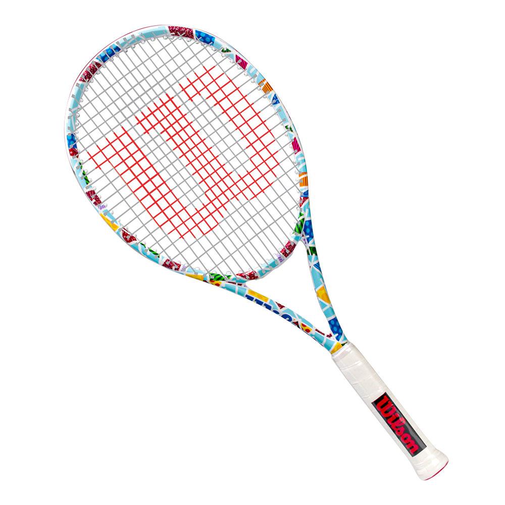 Raquete de Tenis Wilson Clash 100L Romero Britto empunhadura:L3