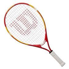 Raquete de Tênis Wilson US Open 21 Vermelho e Branco
