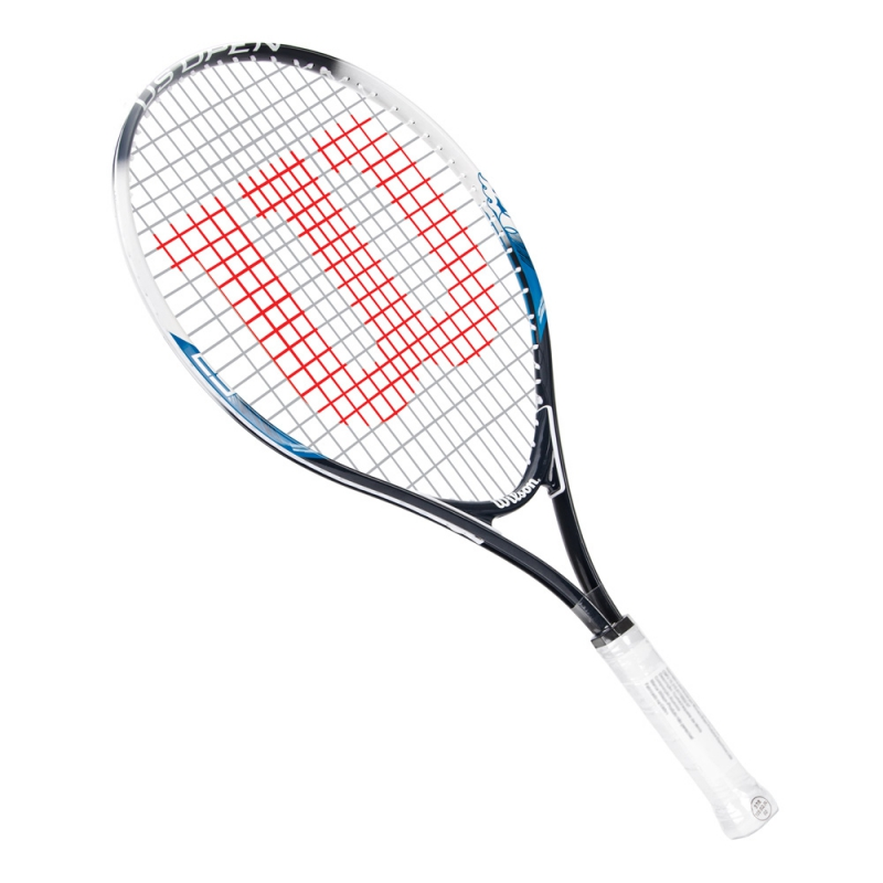 Raquete de Tênis Wilson US Open 25 Branco e Azul