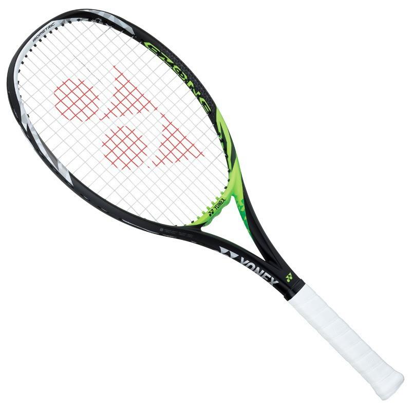 Raquete de Tênis Yonex Feel 102 Preta e Verde L3