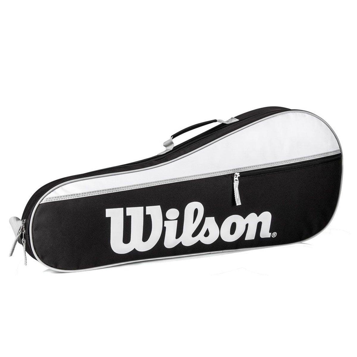 Raqueteira Wilson Advantage Pro Triple 3R Preta Branca e Cz