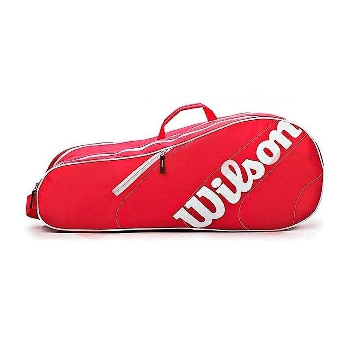 Raqueteira Wilson Esp Advantage Team 3R Vermelha