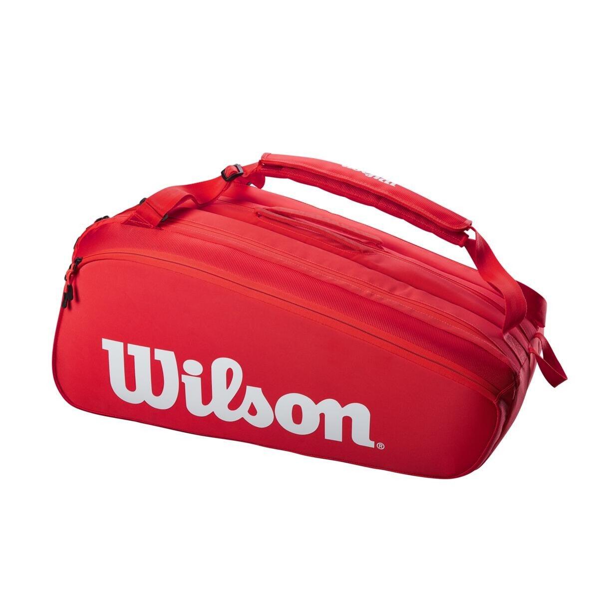 Raqueteira Wilson Esp Super Tour 15R Vermelho