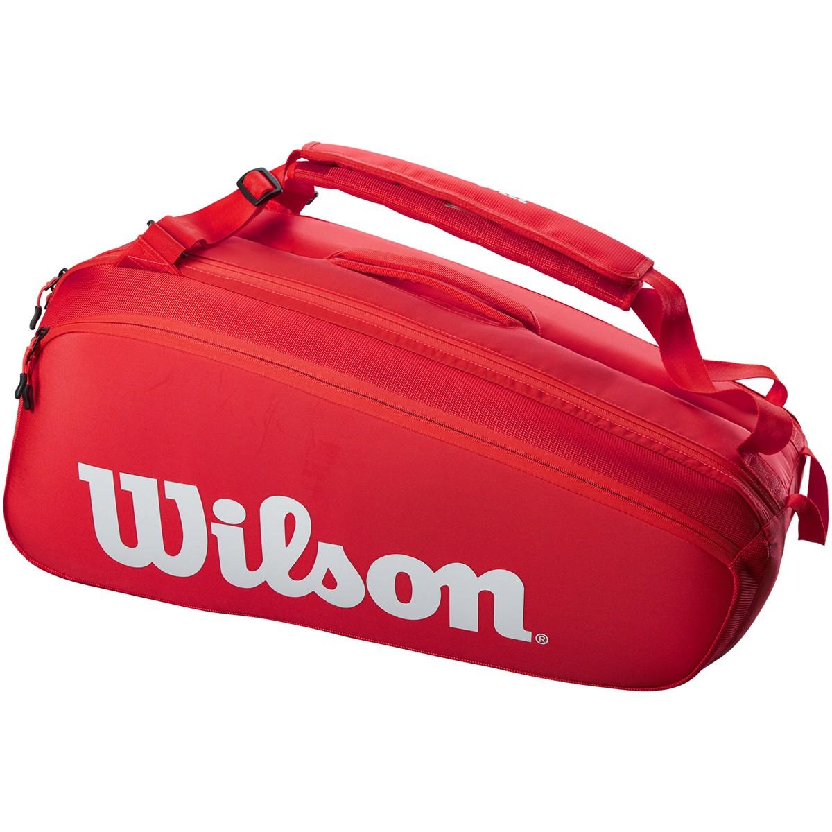 Raqueteira Wilson Esp Tour 9R Vermelho