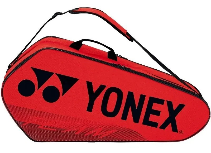 Raqueteira Yonex Team X6 Vermelho 2021